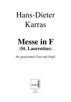 Messe in F